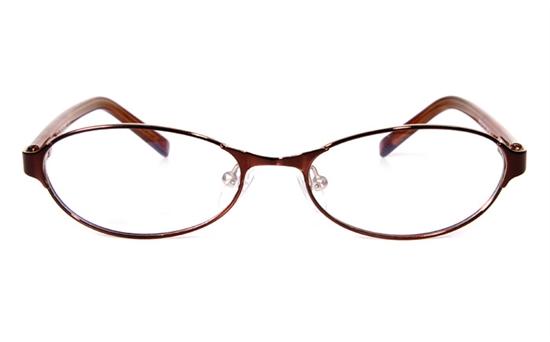 Nova Kids 1518 Stainless Steel/ZYL Full Rim Kids Optical Glasses