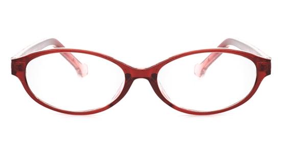 Nova Kids Pro2 Polycarbonate(PC) Oval Full Rim Kids Glasses - Frame & Lens
