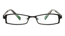 Vista First 1055 Stainless Steel/ZYL Mens Womens Full Rim Optical Glasses for Classic,Party,Sport,Nose Pads