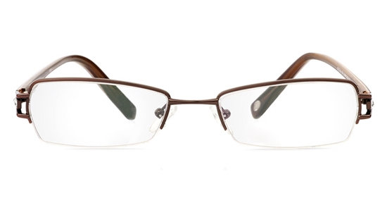 Vista First Stainless Steel Semi-rimless Womens Optical ...