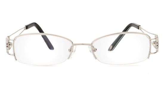Vista First 1090 Stainless Steel Half Rim Womens Optical Glasses