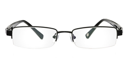 Vista First 1051 Stainless Steel Semi-rimless Womens Optical Glasses for Fashion,Classic,Party,Nose Pads