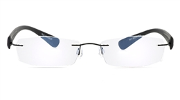 Vista First 5011 Stainless Steel Mens Womens None Optical Glasses for Sport,Nose Pads