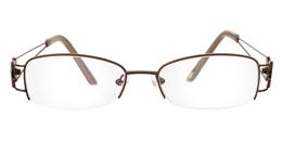Vista First 1090 Stainless Steel Half Rim Womens Optical Glasses
