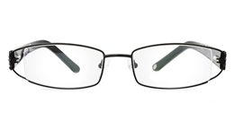 Vista First 1064 Stainless Steel Semi-rimless Womens Optical Glasses for Fashion,Classic,Party,Nose Pads Bifocals