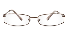 Vista First 1806 Stainless Steel Semi-rimless Womens Optical Glasses for Fashion,Classic,Party,Nose Pads