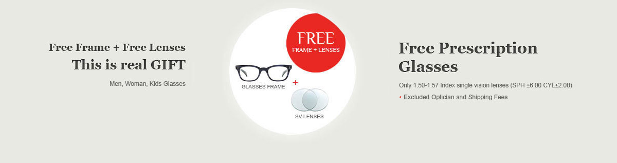 dfa55a8f87 Free Prescription Glasses